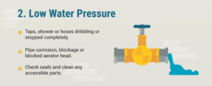 low water pressure - plumbing and gas brisbane