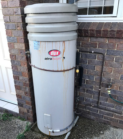 Boondall Plumbers Old Electric Hot Water Unit 2