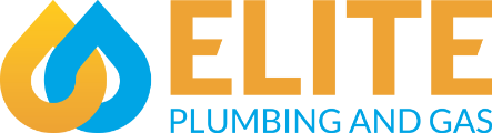 elite plumbing and gas logo